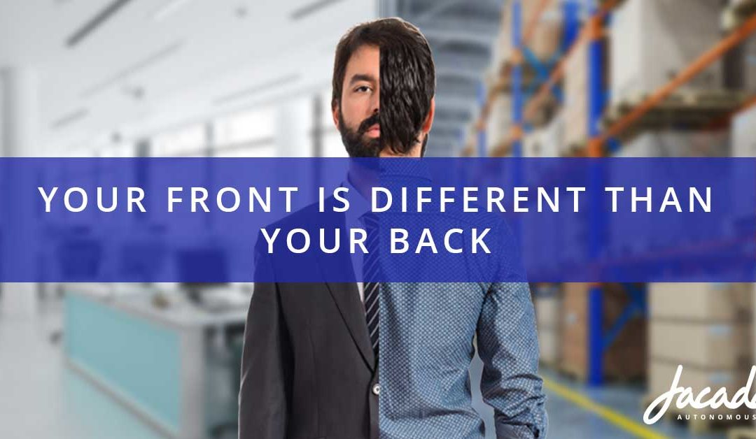 Your Front is Different than Your Back