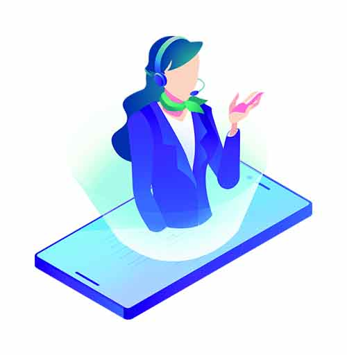 Customer Contact Augmented Reality
