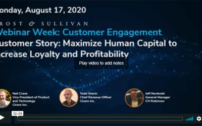 Webinar on DemandCustomer Story: Maximize Human Capital to Increase Loyalty and Profitability
