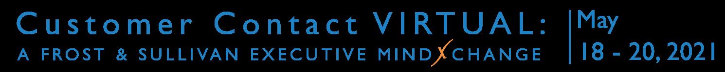 Customer Contact Virtual in May