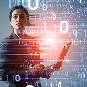 Digital Acceleration Icon